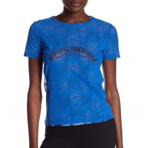 NWT Opening Ceremony Double Layer Mesh Logo Tee